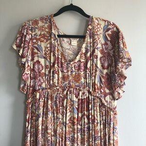 Sundance Boho Style Festival Maxi Dress